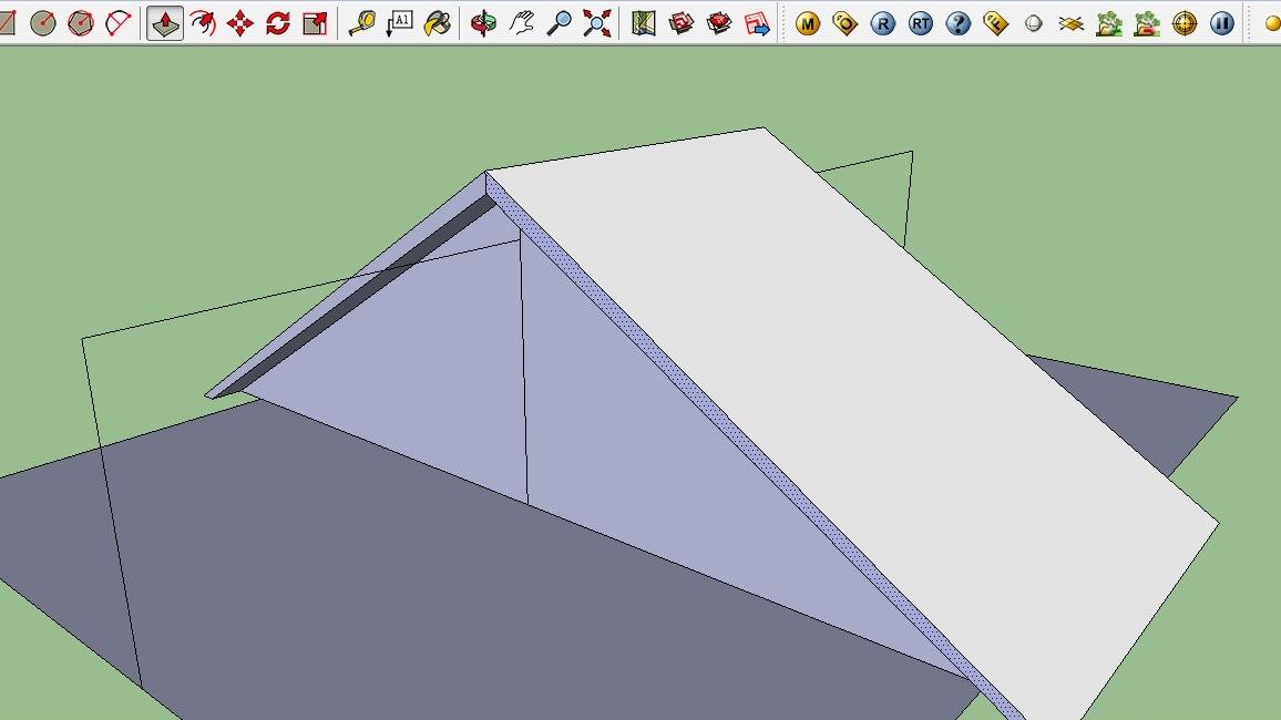 Cara Membuat Atap di Sketchup dengan Mudah Kumpulan Tips