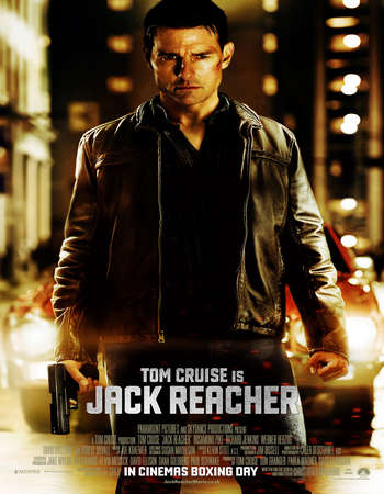 Poster Of Jack Reacher 2012 Dual Audio 720p BRRip [Hindi - English] ESubs Free Download Watch Online downloadhub.net