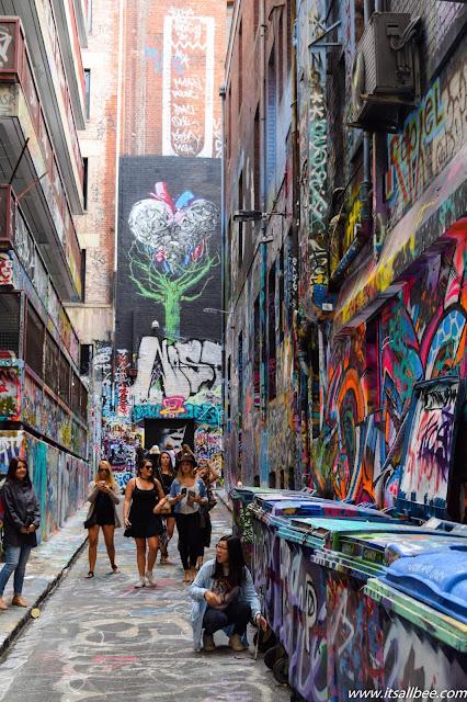 Melbourne Hosier Lane - Street Art