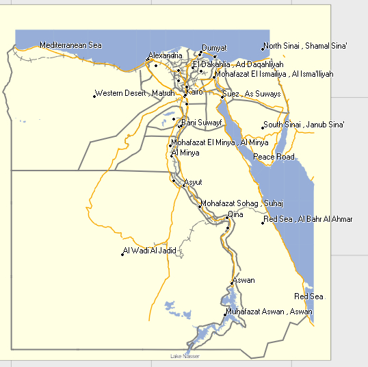 Gps Maps Egypt GPSTravelMaps.com: Egypt GPS Garmin iPhone Android Free