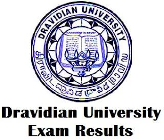 Dravidian University Distance Education Results 2017