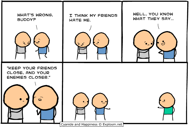 Cyanide and Happiness Comic