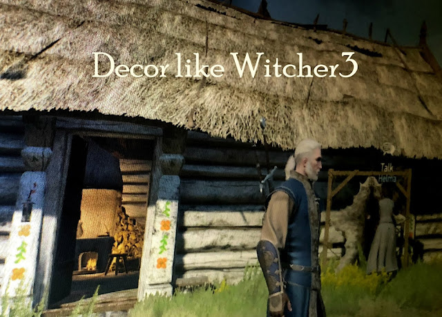 how to decorate witcher 3 style