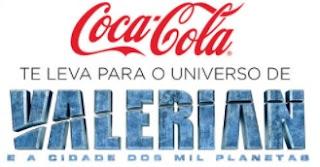Cadastrar Promoção Coca-Cola Filme Valerian 2017 Ingressos Viagem
