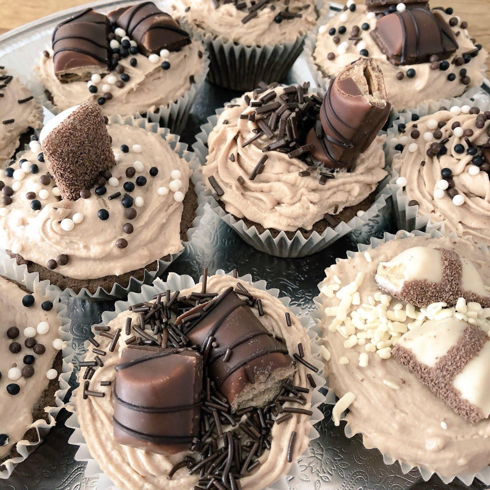 Kinder Bueno Cupcake Recipe