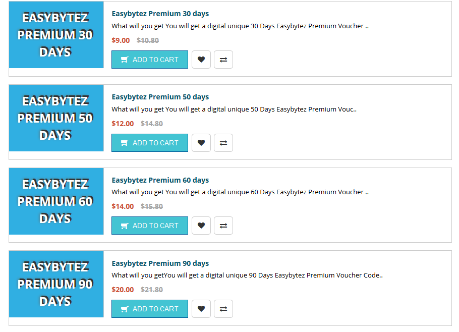 Easybytez Premium Reseller Via Master Card Paypal ...
