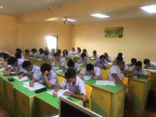ระดับชั้น ม.4 ห้อง MESP โครงการพิเศษ ห้องเรียนวิทย์ - คณิต