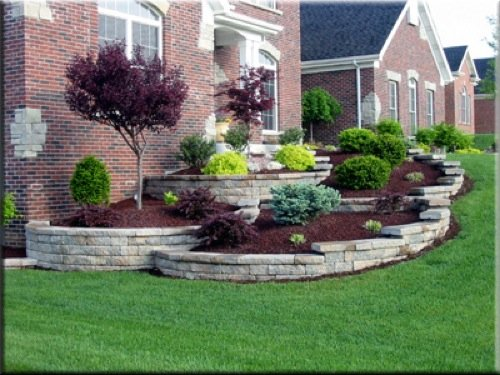 Simple Garden Ideas For Front Of House Photograph Landscap