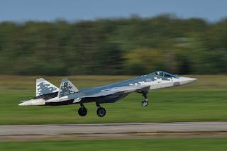 Jet Tempur Sukhoi Su-57 Rusia