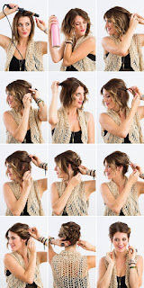 #4 updo for short hair