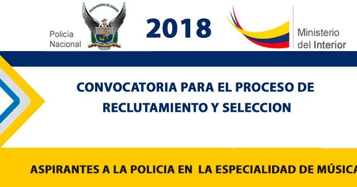 Polic a nacional 2018 reclutamiento en linea aspirantes for Ministerio del interior web