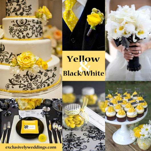 How To Accent Yellow With Black For Cake Decorating