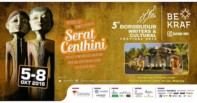 5th Borobudur Writers and Cultural Festival 2016
