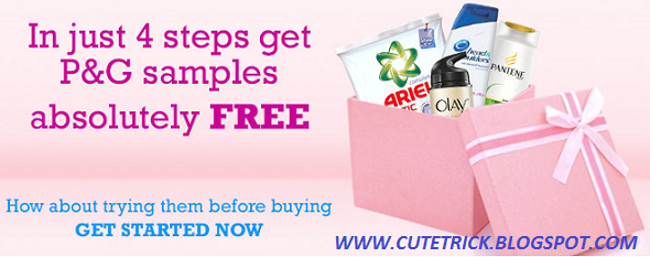 Get FREE Sample of Olay, Ariel, Head & Shoulders, Pampers & Whisper