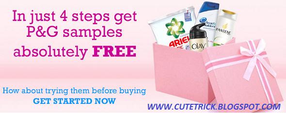 Get FREE Sample of Olay, Ariel, Head & Shoulders, Pampers & Whisper