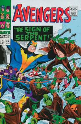 Avengers #32, the Sons of the Serpent