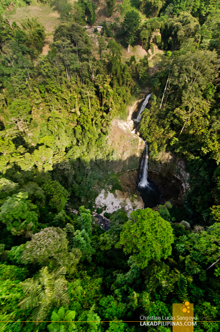 Zipline View at Lake Sebu's 7 Waterfalls