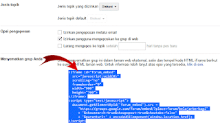 Forum dari google grup ibarat ini bekerjsama sudah usang ada Cara Membuat Forum di Dalam Blog Google Grup