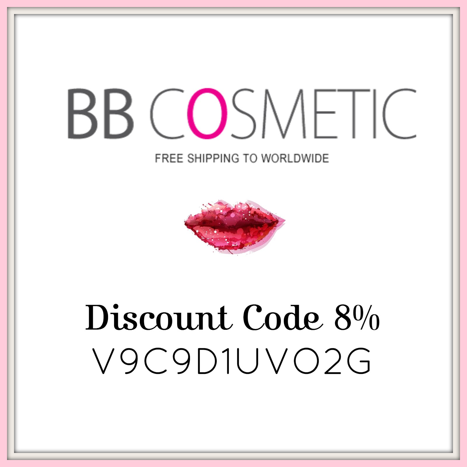 8% Discount in BB Cosmetic