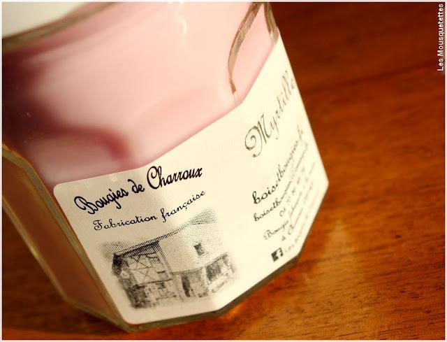 Bougies de Charroux - Myrtille - Blog