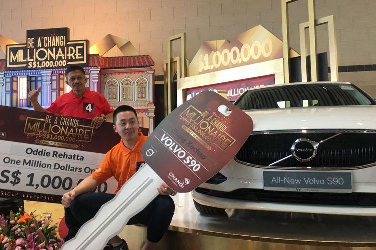 Turis Indonesia Menang Uang Cash Rp 10 Miliar di Bandara Changi