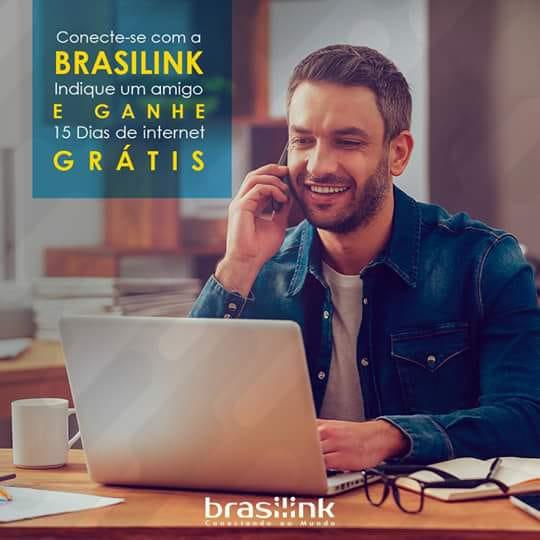 Promoção de inauguração do escritório Brasilink