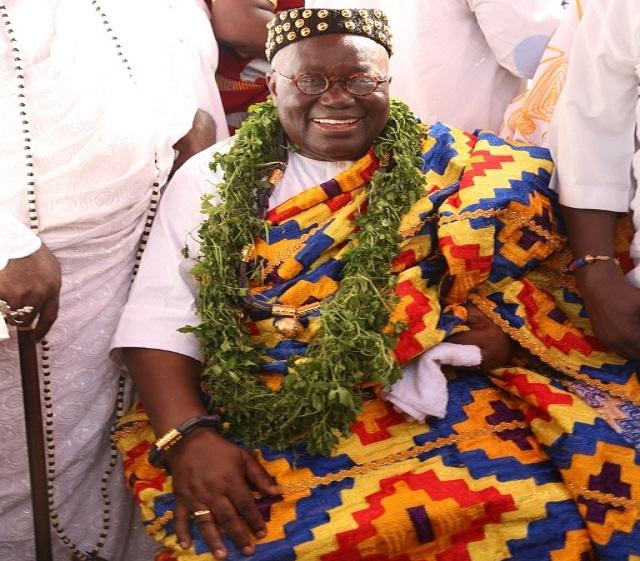 "President Akufo-Addo was given the stool name ""Nii Kwaku Ablade Okogyeaman I"","