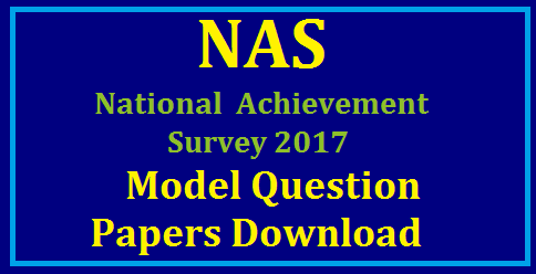 NAS National Achievement Survey 2017 Model Papers Download Introduction of NAS-National Achievement Survey The Central Government's flagship programme Sarva Shiksha Abhiyan (SSA) has been successful in ensuring greater access, equity and quality in elementary education. In the year 2000, the programme of National Achievement Surveys (NAS), originally conceived by NCERT as an independent project, was incorporated into the Government's flagship project Sarva Shiksha Abhiyan. NCERT is responsible for planning, developing tools, conducting the surveys and reporting the results under SSA by the Ministry of Human Resource Development (MHRD)./2017/09/mhrd-ncert-scert-nas-national-achievement-survey-model-question-papers-telugu-english-mathematics-sciences-download.html