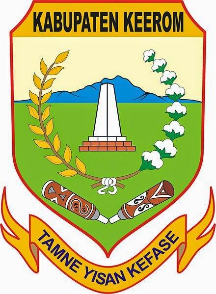 Logo Kabupaten Kota Logo Kabupaten Keerom Papua
