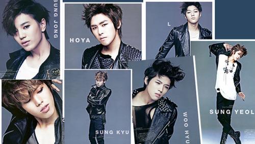 [TRANS/Interview] INFINITE on Music Bank Magazine (Japan ...   500 x 282 jpeg 61kB