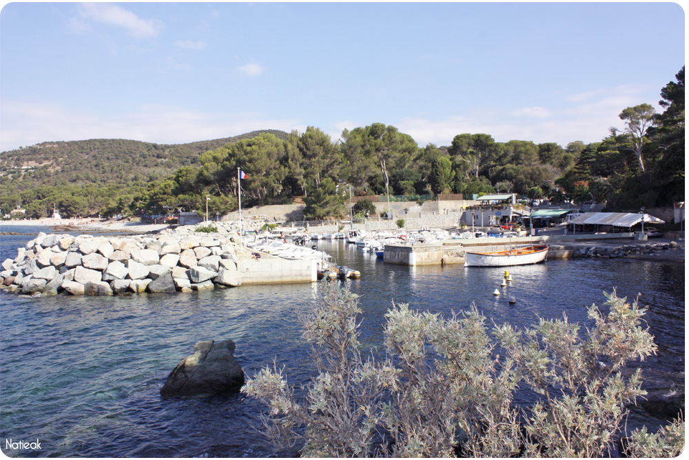 Le port de Poussaï de Saint Raphaël