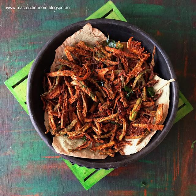 Kurkure bhindi | Vendakkai Varuval