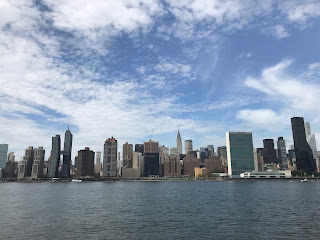 East River Manhattan Skyline