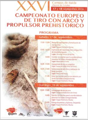 Salvatierra-Aguraingo XXVI. tirada prehistorikoa