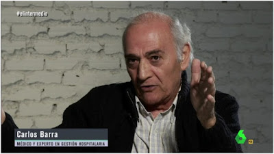 http://www.lasexta.com/programas/el-intermedio/revista-medios/el-medico-carlos-barra-sobre-la-reforma-sanitaria-en-galicia-feijoo-es-un-experto-en-privatizar-no-ha-empezado-ahora_201712125a3047930cf22cef518605a1.html