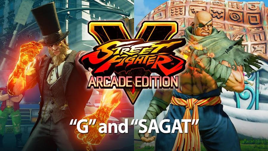 street fighter v arcade edition sagat g dlc