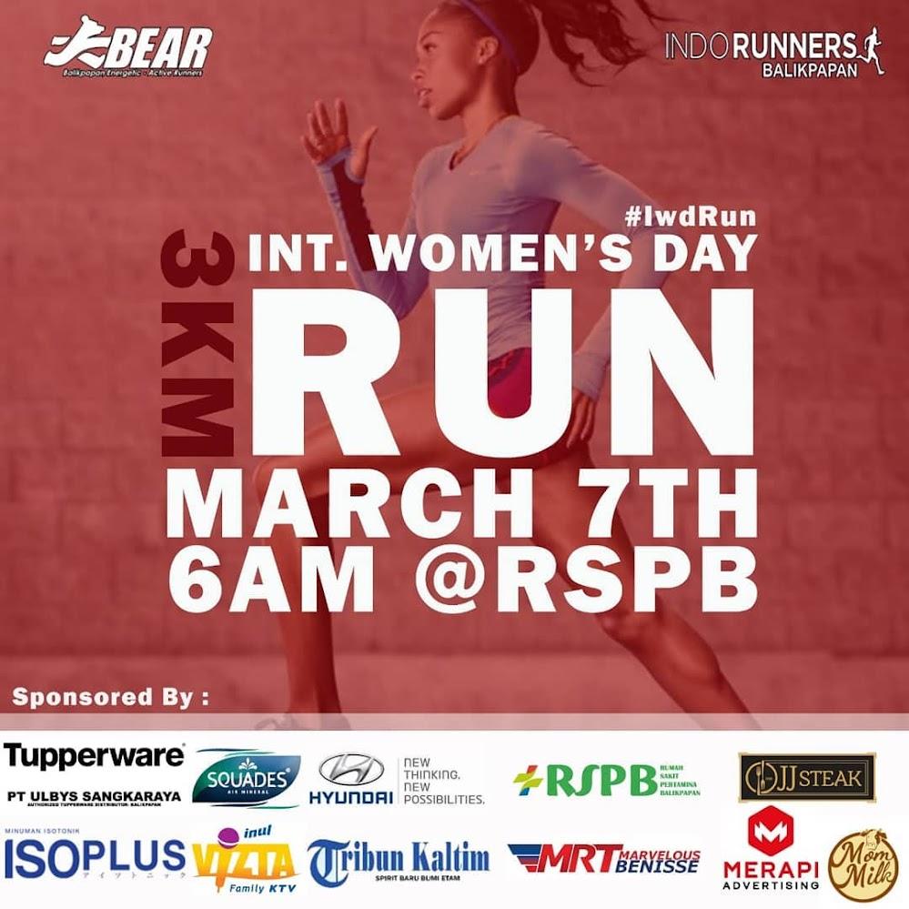 International Women's Day Run - Indorunners Balikpapan • 2019