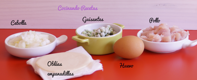 Empanadillas-Ingredientes