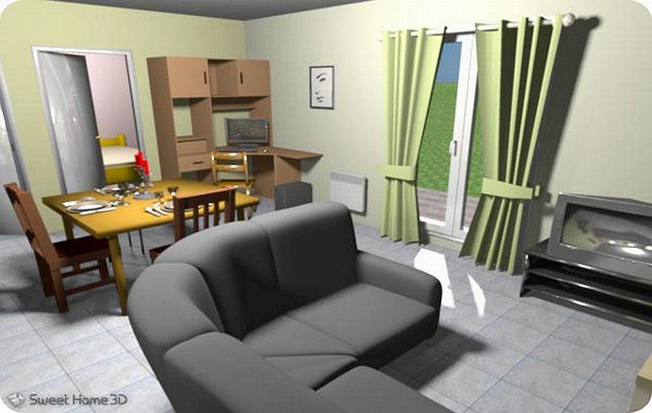Dise o interiores 3d online for Diseno de interiores online