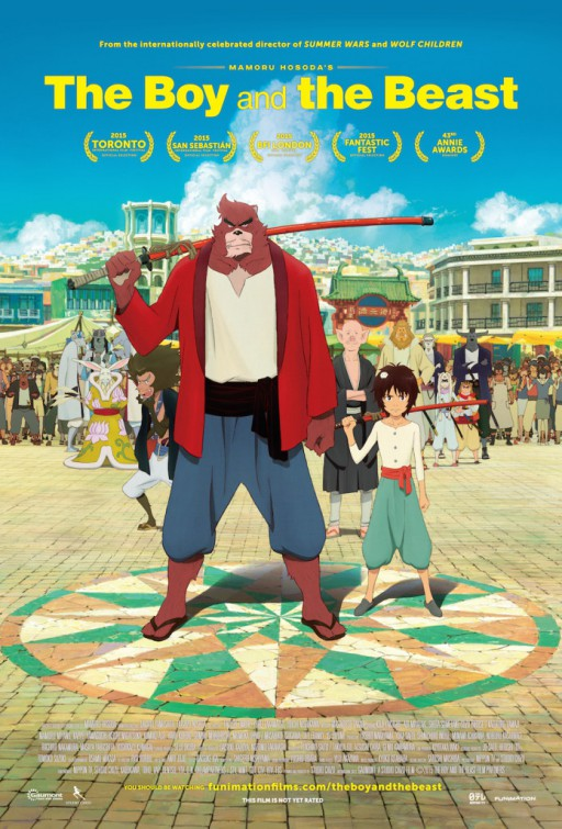 Poster anime The Boy and the Beast