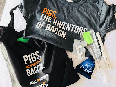 Photo of pork and dairy promo items