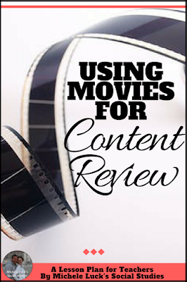 Take a look at these dos and don'ts for teaching with movies for reviewing content in the middle or high school classroom.