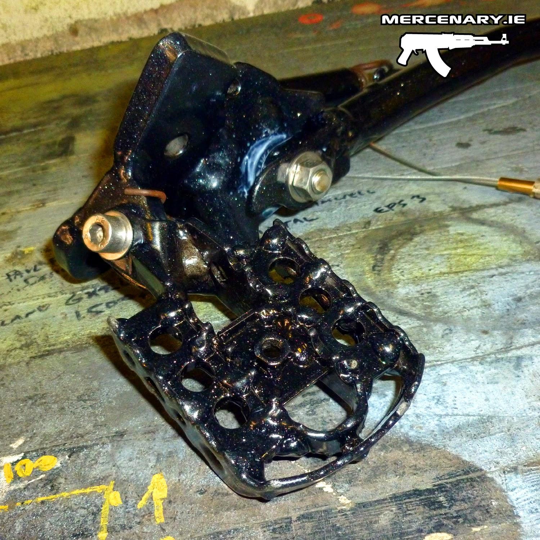 Mercenary Garage Africa Twin Modified Foot Controls