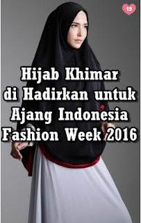 salah satu contoh hijab khimar