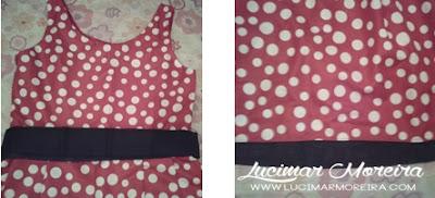 Hoje trago um mimo enviado pela loja Ana Giovanna Moda Infantil Feminina o vestido Minnie vermelho com bolinhas brancas, o vestido é lindo super confortável, saiba mais dos detalhes no blog.