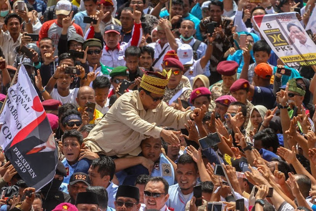 Disambut Luar Biasa di Riau, Prabowo: Kalau Begini, Rasanya 17 April Nanti Menang