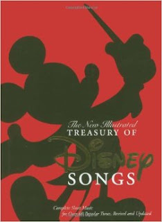 New Illustrated Disney Songbook, 1986, Piano, Vocal, Guitar, 70+ Songs, Music