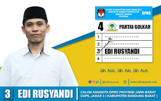 Tata Cara Mencoblos Pemilu Legislatif 2019 Untuk DPRD Provinsi Jawa Barat
