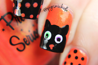Pretty Serious Dotticure...and Cats