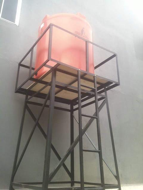 Membuat tower air di bengkel las Bogor